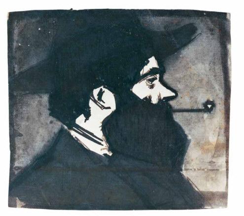 Pablo Picasso, Retrato de Hermenegild Anglada-Camarasa, 1899-1900