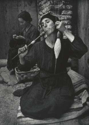 W. Eugene Smith, The Spinner, Spanish Village, 1950