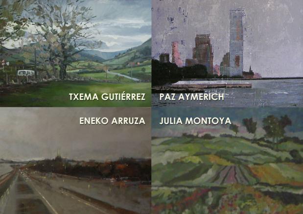 E. Arruza - J. Montoya - P. Aymerich- T. Gutiérrez.