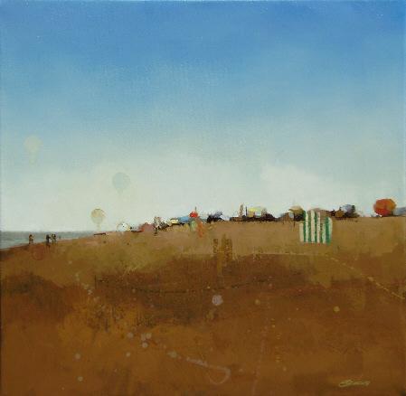 Francisco Escalera, Escenas de playa 46