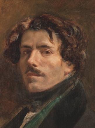 Eugène Delacroix, Autorretrato con chaleco verde, 2009 M.du Louvre-Erich Lessing