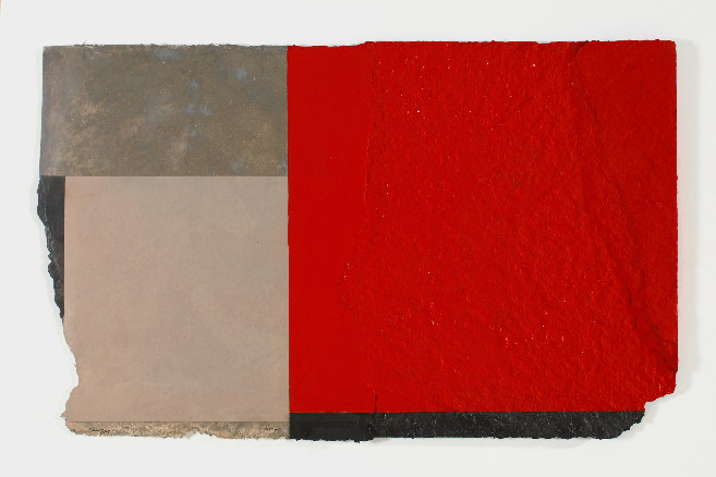 Canogar, Partida, 80,5 x 116 cm, técnica mixta, 2007