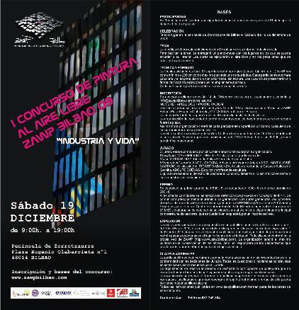 I Concurso de Pintura al Aire Libre ZAWP Bilbao 09 Industria y vida
