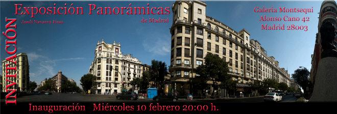 Navarro Fisas, Panorámicas de Madrid