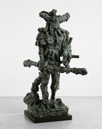 Jonathan Meese, Der Kämpfer de Large - Des Zeushagen von Troja de Neutral-, 2008