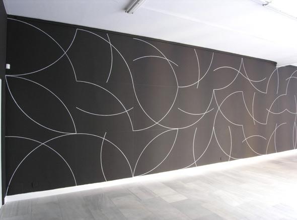 Sol Lewitt, Wall Drawing y goauches