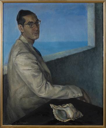 Manuel Maldonado, Retrato de Luis Rosales, 1943