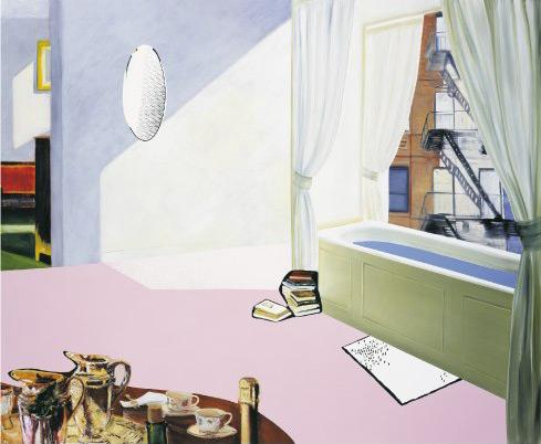 Dexter Dalwood, Truman Capote, 2004