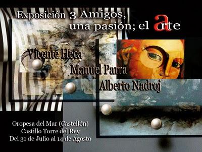 3 Amigos, una pasión; el Arte
