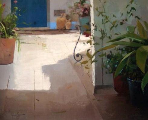 Antonio Barahona, A la sombra