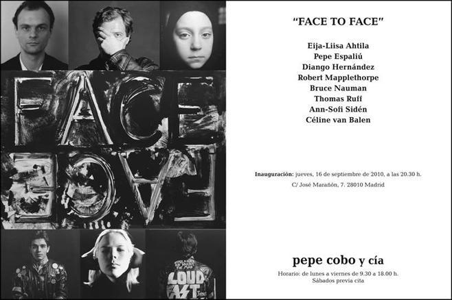 Invitación Face to Face
