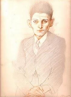 Carlos Alonso, Retrato de Kafka, 1984