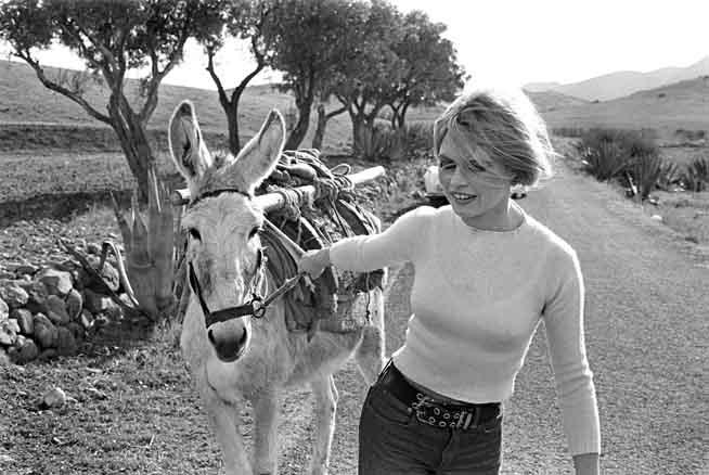 César Lucas, Brigitte Bardot, Almería, 1968