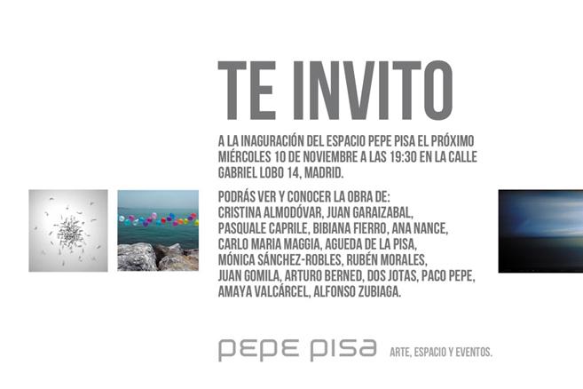 Cartel exposición inaugural