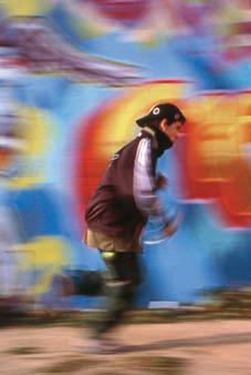 Javier Bañón, Sin título, de la serie Territorio Graffiti