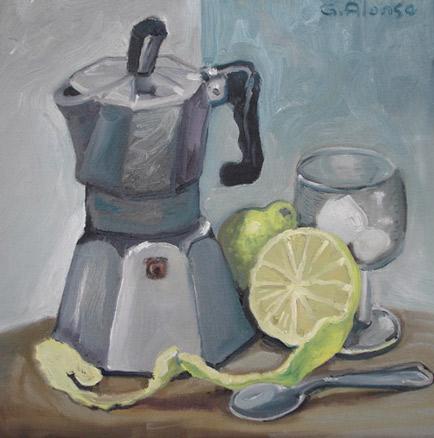 Gabriel Alonso, Café del tiempo, 2010