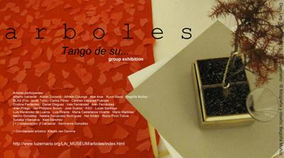 ARBOLES. Tango de su... - Diseño y fotografia Begoña Muñoz 2010