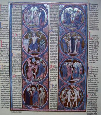 Biblia de San Luis. Original en la Catedral Primada de Toledo, c. 1230. Facsímil