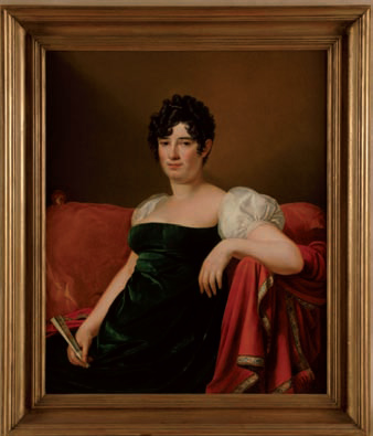 José de Madrazo Agudo, Retrato de la marquesa de Branciforte, c. 1812-1813