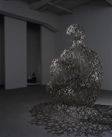 Jaume plensa, Tokyos soul, 2007. Acero inoxidable. 94 x 54 x 78 cm