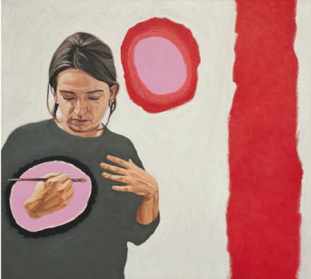 Mercedes Carbonel, La pintura abstracta sevillana