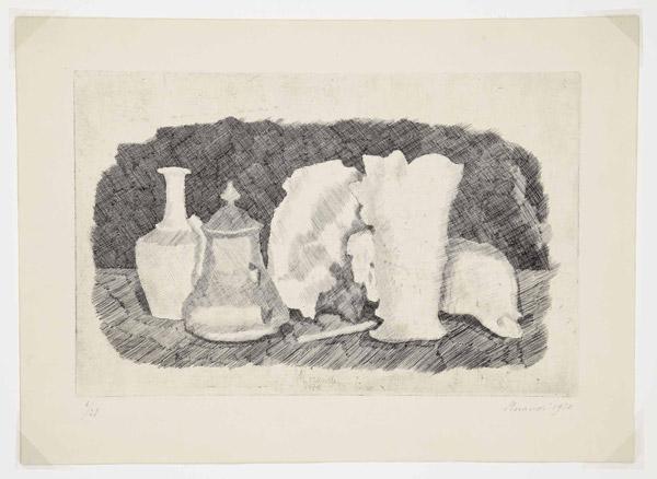 Giorgio Morandi, Naturaleza muerta 1930