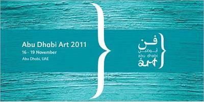 Cartel de la Abu Dhabi Art 2011