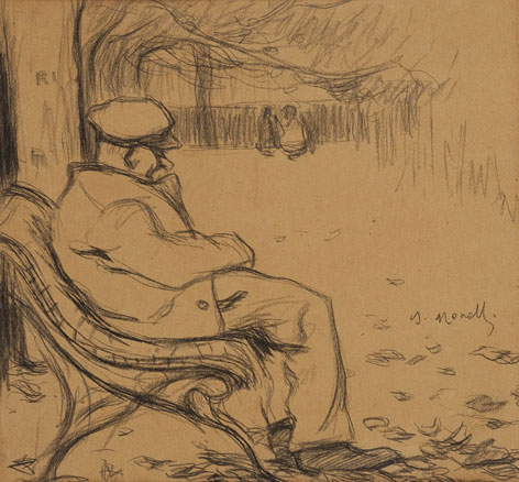 Isidre Nonell, Hivern a la tardor, c. 1897