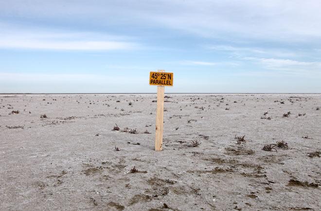Paralelo 45 25 Norte Caspio-Aral