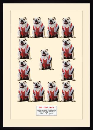 Gilbert & George, Bulldog Jack, 2009