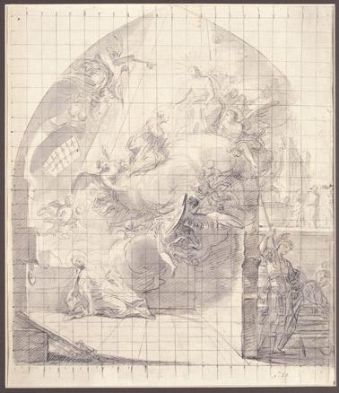 Mariano Salvador de Maella, Muerte de Santa Leocadia, 1774-75