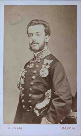 Eusebio Juliá, Amadeo I, rey de España