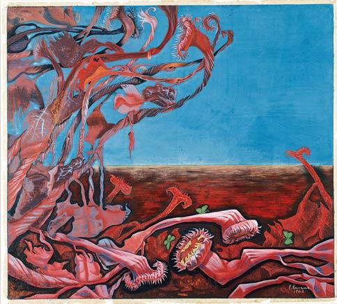 Yayoi Kusama, Lingering Dream, 1949