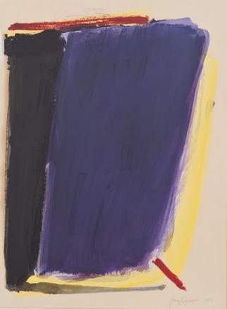 José Guerrero, Sin título, 1984