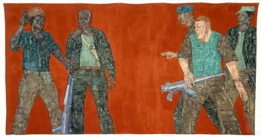 Leon Golub, Mercenaries IV -Mercenarios IV-, 1980