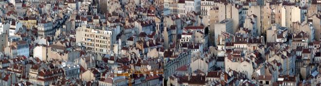 Horizontes y ciudad