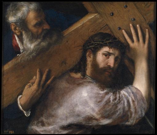 Tiziano, Cristo con la Cruz a cuestas, h. 1565