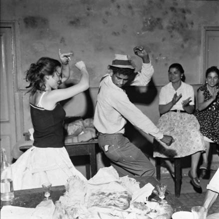 Jacques Léonard, Verbena de San Juan en la bodega Ca La Rosita, 1960