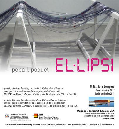 Pepa L. Poquet, El.lipsi