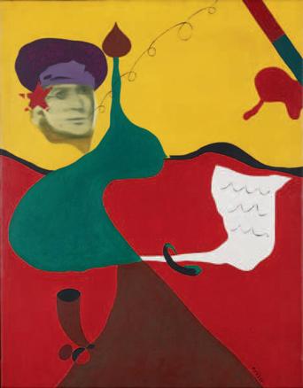 Arroyo, Serie Miró rehecho, 1967
