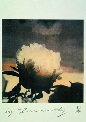 Cy Twombly. Peonias. 1980. Cortesia del artista y Gagosian Gallery.