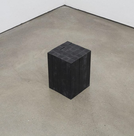 Carl Andre, 25 Bakelite Bar Block, 2009