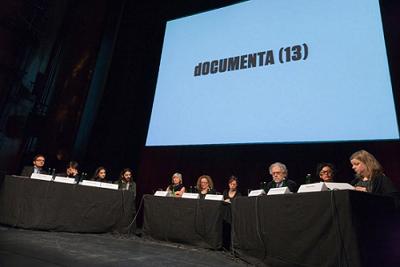Presentacion del equipo de la Documenta 13