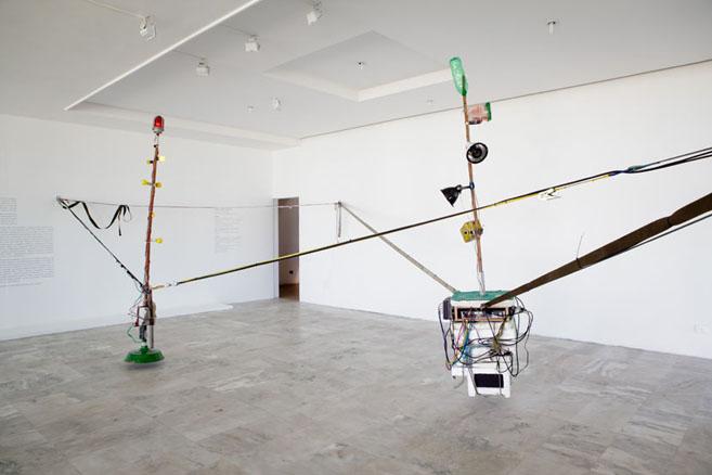 2011 installation photo Clara Gouvea