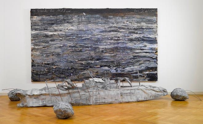 Anselm Kiefer, Am Grunde der Moldau - Drei Kaiser, 2007-2008