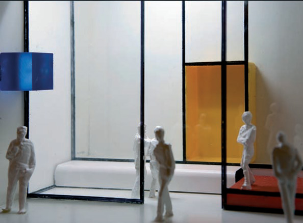 Jesús Capa, Caja Mondrian
