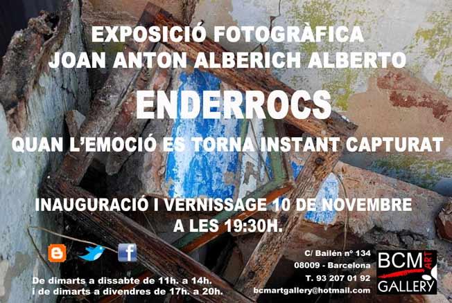 Joan Anton Alberich Alberto, Enderrocs