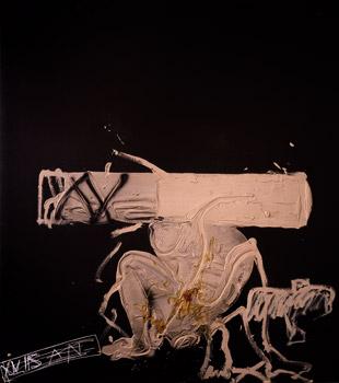 Antoni Tàpies, Matèria rosada, 1991