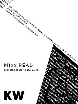 MISS READ 2011