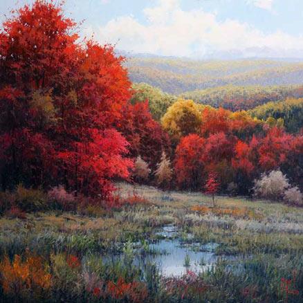 Miguel Peidro, Colores de otoño